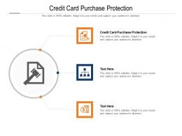 Credit Card Purchase Protection Ppt Powerpoint Presentation Pictures Graphics Cpb