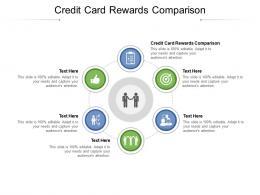 Credit Card Rewards Comparison Ppt Powerpoint Presentation Inspiration Layouts Cpb