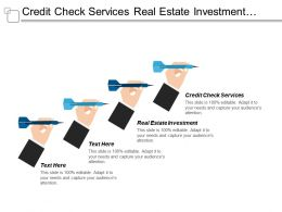 Credit Check Services Real Estate Investment Retail Marketing Cpb