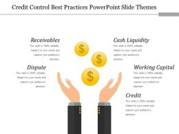 Credit Control Best Practices Powerpoint Slide Themes