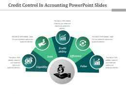 Credit Control In Accounting Powerpoint Slides