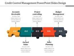 Credit Control Management Powerpoint Slides Design
