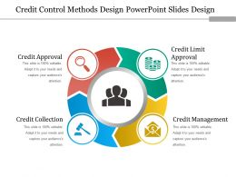 Credit Control Methods Design Powerpoint Slides Design