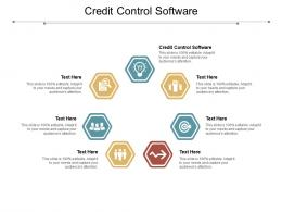 Credit Control Software Ppt Powerpoint Presentation Infographic Template Graphics Pictures Cpb