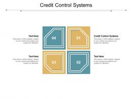 Credit Control Systems Ppt Powerpoint Presentation Summary Gridlines Cpb