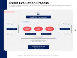 Credit Evaluation Process Management Ppt Powerpoint Presentation Summary Slide Download