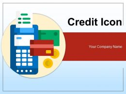 Credit Icon Approval Electronic Payment Smartphone Calculation