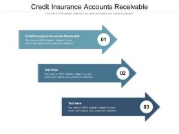Credit Insurance Accounts Receivable Ppt Powerpoint Presentation File Formats Cpb