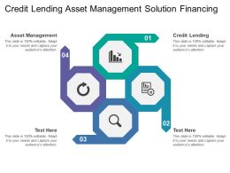 Credit Lending Asset Management Solution Financing Planning Corporate Finances