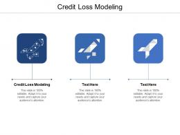 Credit Loss Modeling Ppt Powerpoint Presentation Ideas Information Cpb