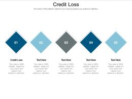Credit Loss Ppt Powerpoint Presentation Summary Objects Cpb