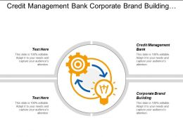 Credit Management Bank Corporate Brand Building Capital Plan Cpb