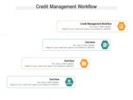 Credit Management Workflow Ppt Powerpoint Presentation Show Summary Cpb