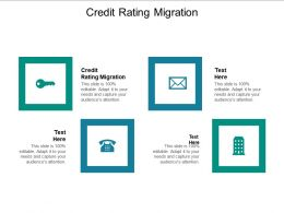 Credit Rating Migration Ppt Powerpoint Presentation File Example File Cpb