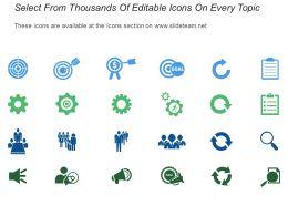 Credit Reward Agenda Sales Motivation With Icons