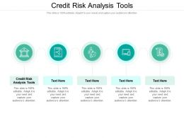Credit Risk Analysis Tools Ppt Powerpoint Presentation Gallery Template