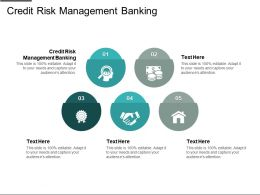 Credit Risk Management Banking Ppt Powerpoint Presentation Gallery Ideas Cpb