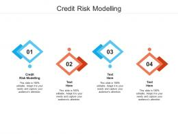 Credit Risk Modelling Ppt Powerpoint Presentation Infographic Template Objects Cpb