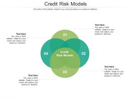 Credit Risk Models Ppt Powerpoint Presentation Infographic Template Sample Cpb