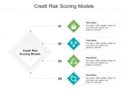 Credit Risk Scoring Models Ppt Powerpoint Presentation Inspiration Brochure Cpb