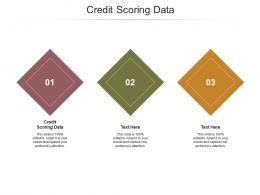 Credit Scoring Data Ppt Powerpoint Presentation Gallery Grid Cpb