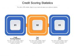 Credit Scoring Statistics Ppt Powerpoint Presentation Summary Portrait Cpb