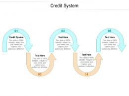 Credit System Ppt Powerpoint Presentation Pictures Tips Cpb
