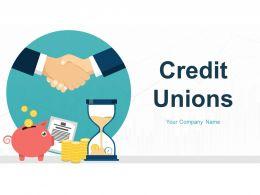 Credit Unions Powerpoint Presentation Slides