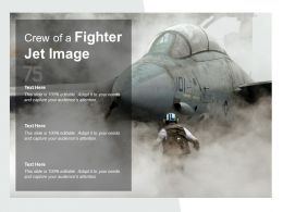 Crew Of A Fighter Jet Image