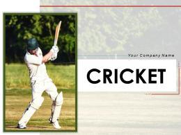 Cricket Practise Attempting Stadium Tournament Helmet