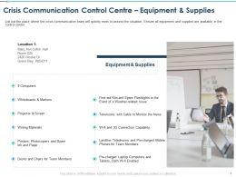 Crisis Communication Control Centre Connection Capability Ppt Graphics