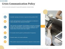 Crisis Communication Policy There Should Ppt Powerpoint Presentation Styles Mockup