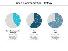 Crisis Communication Strategy Ppt Powerpoint Presentation Tips Cpb