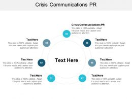 Crisis Communications PR Ppt Powerpoint Presentation Slides Design Inspiration Cpb