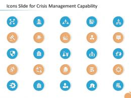 Crisis Management Capability Icons Slide For Crisis Management Capability Ppt Example File