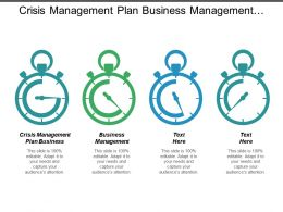 Crisis Management Plan Business Business Management Performance Compensation Cpb