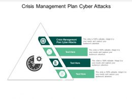 Crisis Management Plan Cyber Attacks Ppt Powerpoint Presentation Show Demonstration Cpb