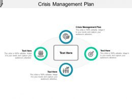 Crisis Management Plan Ppt Powerpoint Presentation Pictures Display Cpb