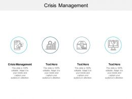 Crisis Management Ppt Powerpoint Presentation Slides Display Cpb