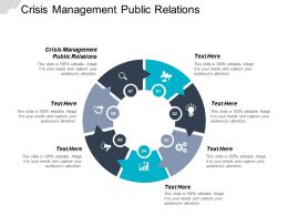 Crisis Management Public Relations Ppt Powerpoint Presentation Icon Model Cpb