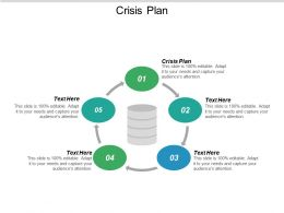 Crisis Plan Ppt Powerpoint Presentation Icon Clipart Cpb