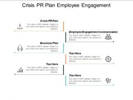Crisis PR Plan Employee Engagement Communication Business Plan Cpb