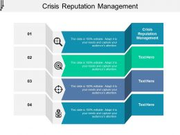 Crisis Reputation Management Ppt Powerpoint Presentation Ideas Images Cpb