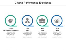 Criteria Performance Excellence Ppt Powerpoint Presentation Pictures Example Introduction Cpb