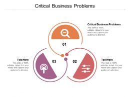 Critical Business Problems Ppt Powerpoint Presentation Slides Layout Cpb
