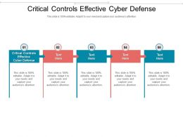 Critical Controls Effective Cyber Defense Ppt Powerpoint Presentation Infographic Template Cpb