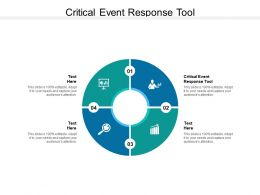 Critical Event Response Tool Ppt Powerpoint Presentation Model Picture Cpb