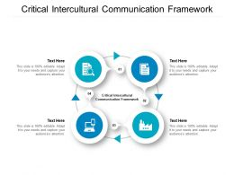 Critical Intercultural Communication Framework Powerpoint Presentation Ideas Cpb
