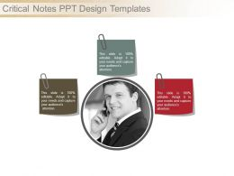 Critical Notes Ppt Design Templates