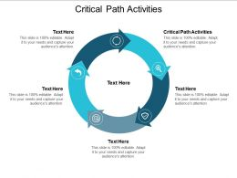 Critical Path Activities Ppt Powerpoint Presentation Icon Ideas Cpb